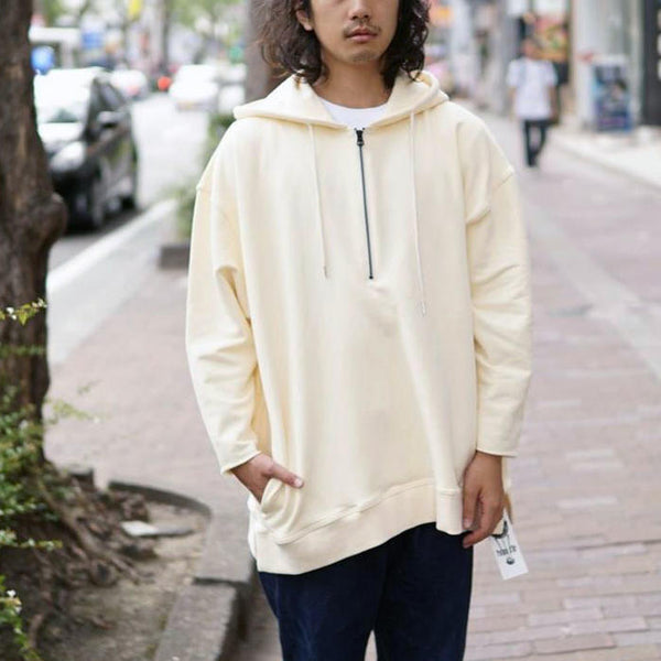 2XL BIGSWEAT PULLPARKER  Color:L,YELLOW【Palme d'Or】