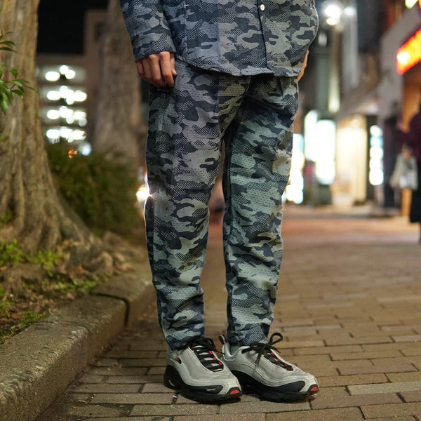 camo pattern pants  Color:Blue CAMO