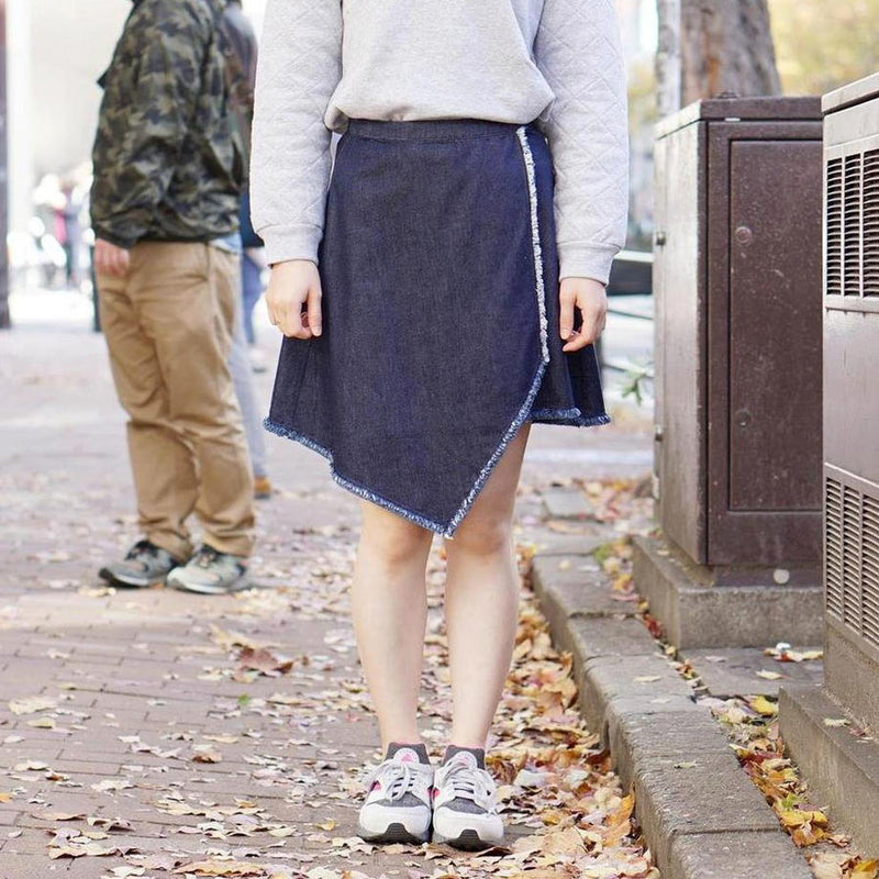 STYLE Name:FRONT ROWSKIRT Color:DEEP【THE FIFTH LABEL】