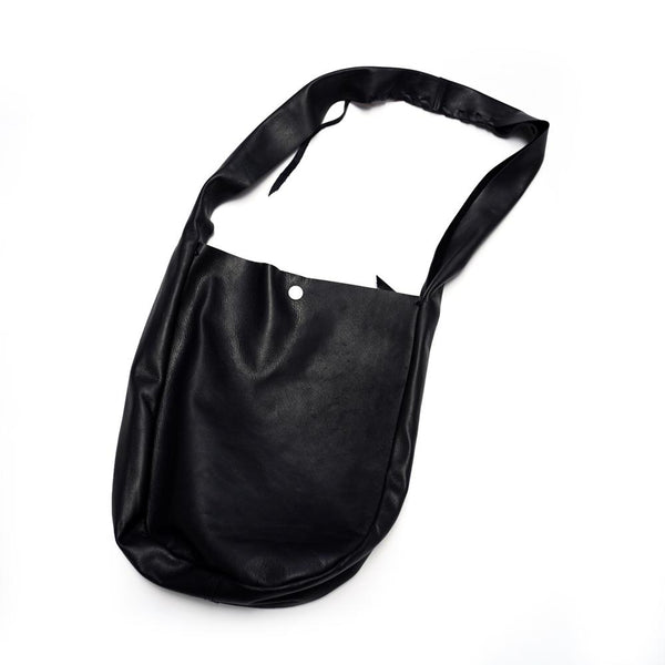 VOO-a-210 LEATHER EGO BAG  Color:BLACK  【VOO】
