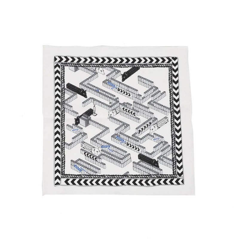 Name:Rat Race Bandana - White【WEAVISM】