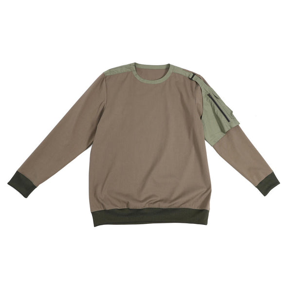 Name:Botic Sweater - Olive Green【WEAVISM】