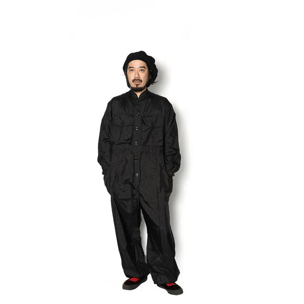 Name:Military Tsunagi Type D | Color:Taslan Nylon Black | No:M27311【MONITALY】