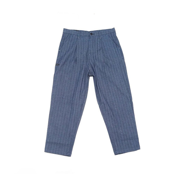 No:DLP-B-2023-DB |Name:Herringbone Jacquard slacks | Color:Blue | 【DYCTEAM】