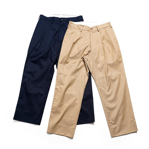 PERFECT PANTS   Color:BEIGE / NAVY  【Palme d'Or パルムドール】