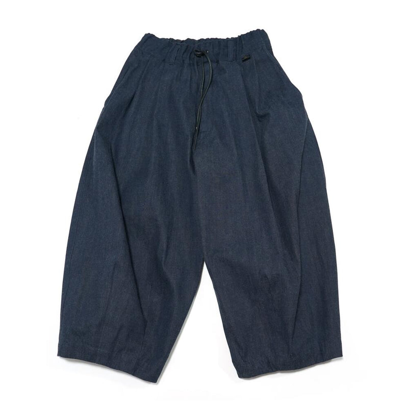 Wide Denim Pants   Color:denim 【Motoki tanaka モトキタナカ】