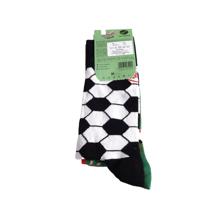 many mornings reguler socks /FootBallFan/ 【many mornings メニ―モーニングス】