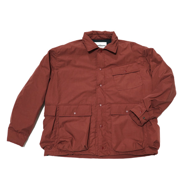 No:KL20FJK920 | Name:SOYUZ | Color:BURGUNDY | Style: KELEN-NANGA TAKIBI HUNTTING JACKET【KELEN】