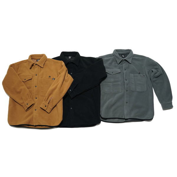NO:LC-0005 | Name:Fleece Hunting Shirt | Color:Coyote | Style:【LASTCHANCE】
