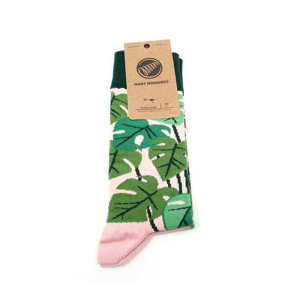 many mornings reguler socks /PlantLove/ 【many mornings メニ―モーニングス】【ネコポス選択可能】