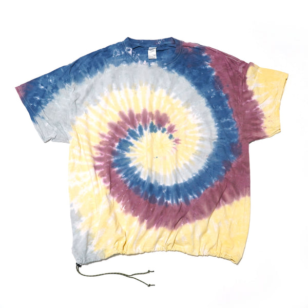 No:1000-REMAKEA | Name:S/S T-SHIRTS w/ DRAWSTRING | Color:LOTUS【HERMOSA TIE DYE】