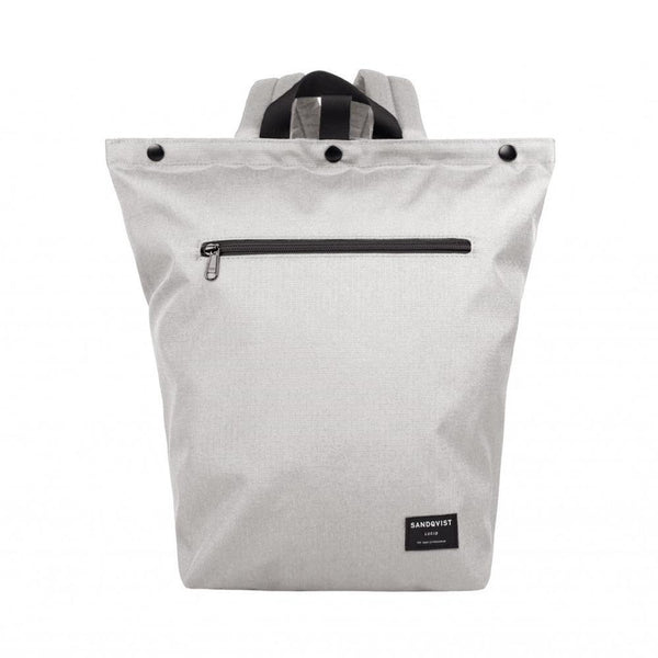 """MIO"" Backpack in ECO Color:Ash Grey【SANDQVIST】"