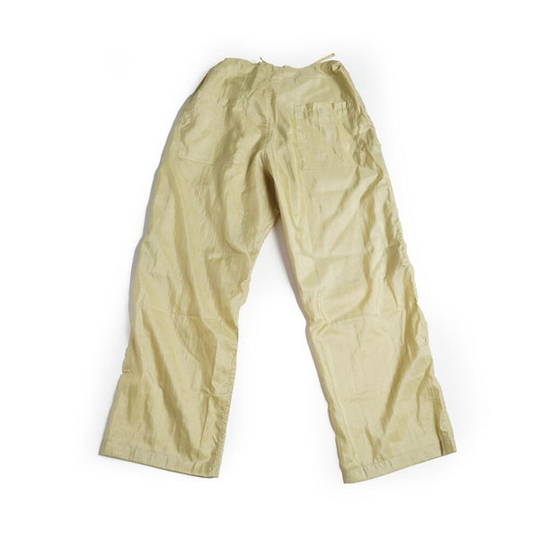 Name:Too Easy Pants | Color:Taslan Nylon Gold | No:M27308【MONITALY】