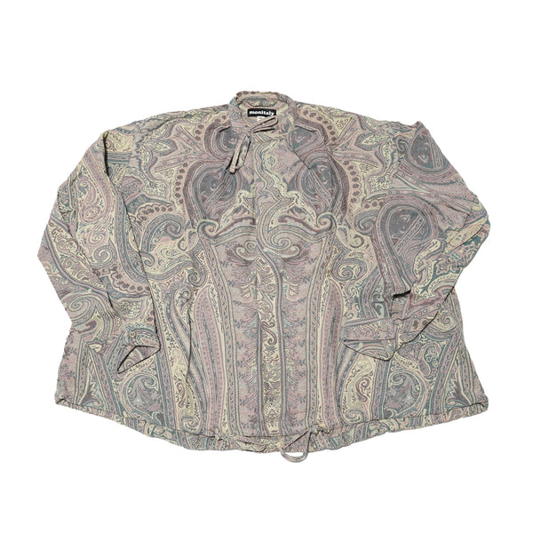 No:M29502 | Name:Military Smock Pullover | Color:BETRO Paisley【MONITALY】