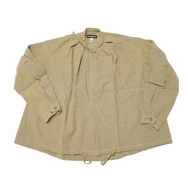 No:M29502 | Name:Military Smock Pullover | Color:230G LINEN KHAKI【MONITALY】