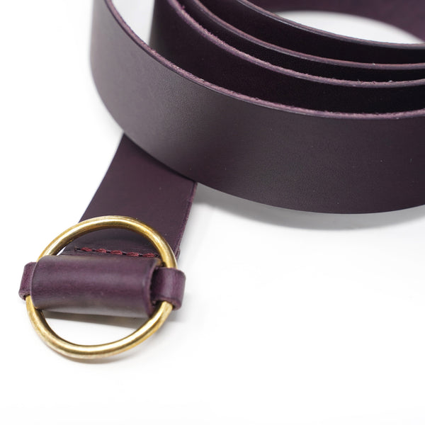NO:PG/EG 271479 | Name:Belt | Color:Purple | 【SARANAM】【ネコポス選択可能】