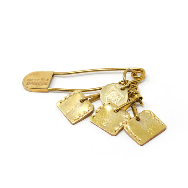 NO:PM/EM 99136 | Name:Keyring | Color:GLD | 【SARANAM】