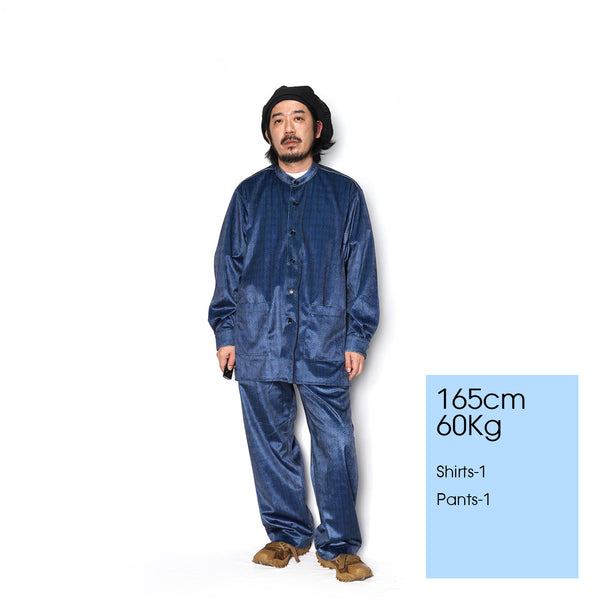 NO:VR20AW-AN-PT01 | Name:THE SOURCE EASY PANTS | Color:NAVY | Style:【VARDE77】