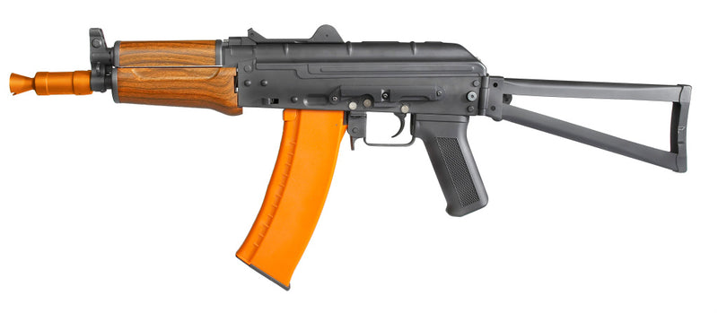 KALASHNIKOV AK74 SU Assault Rifle AEG Real Wood Full Metal Airsoft Gun