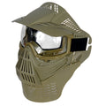 UKARMS Airsoft Full Face Mask with Neck Protection