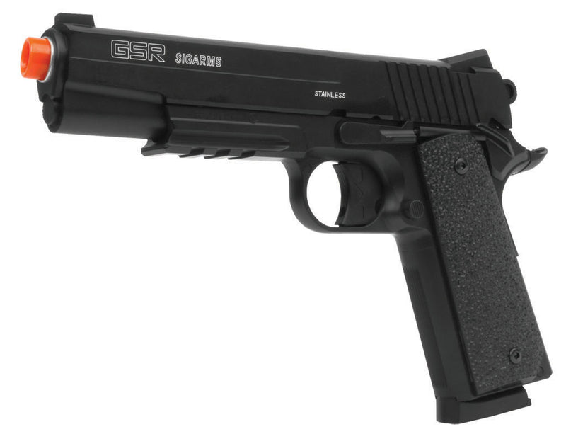 KWC Sig Sauer GSR Full Metal Pistol Semi Auto Co2 Airsoft Gun