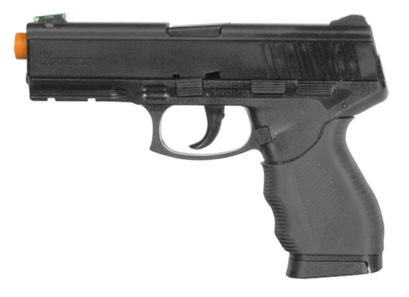 FirePower Interrogator Black P226 Pistol Spring Power Airsoft Gun