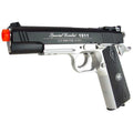 Win Gun Special Combat Sport 1911 Co2 Half-Blowback Airsoft Pistol