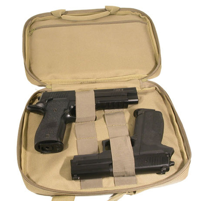 SWISS ARMS Soft Pistol Case - Fits Two Pistols