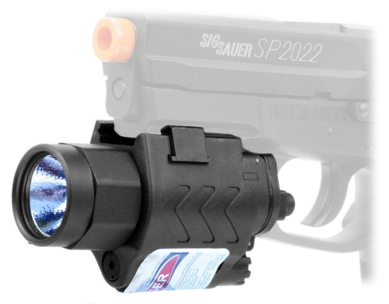SWISS ARMS Flashlight and Laser Combo Set for Tactical Airsoft Pistols