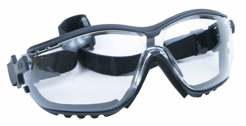 Pyramex Safety Approved Pro Goggles with Elastric Strap - Clear Lens