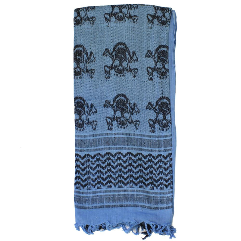 Lancer Tactical Skull Shemagh Desert Scarf Head Wrap