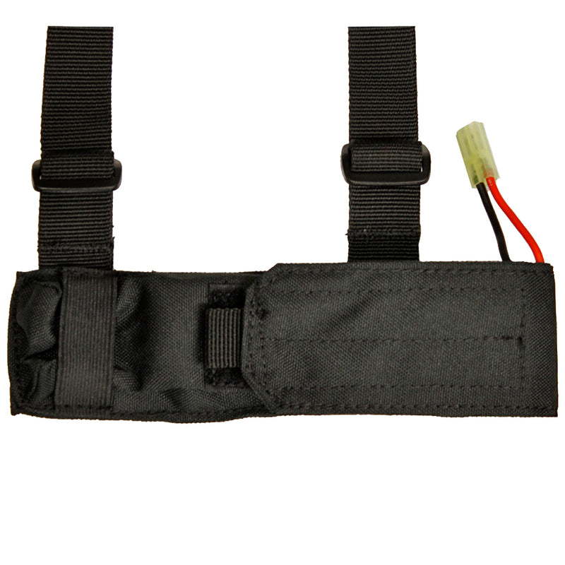 PHX Tactical External Airsoft Battery Pouch - Black