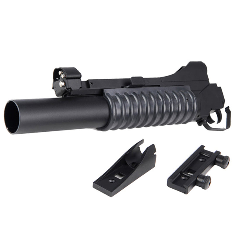 DBOYS Grenade Launcher Attachment for M4 / M16 Airsoft Rifles (Long)
