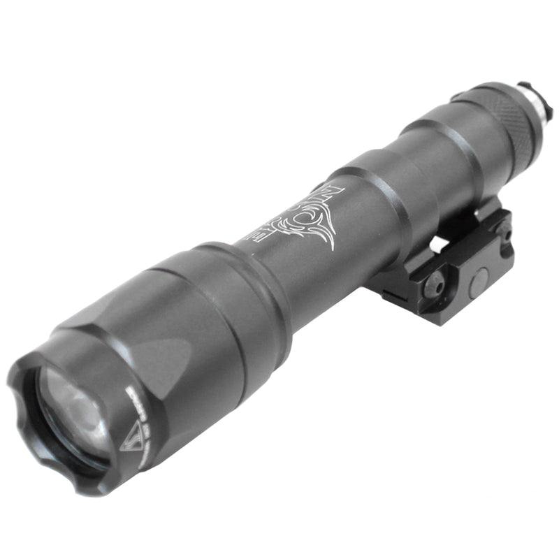 Bravo Scout Tactical Flashlight with Pressure Switch - Gray