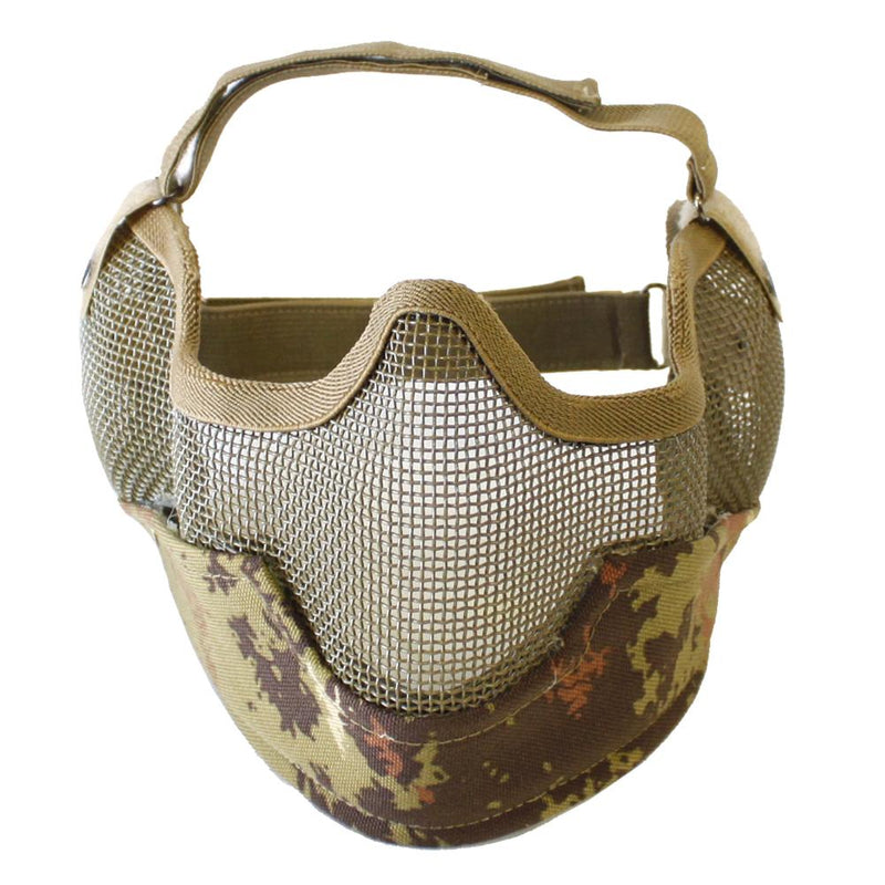 Bravo Strike V2 Metal Mesh Face Mask with Ear Protection