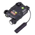 BRAVO Airsoft PEQ-15 LED Light & Green Laser Combo w/ Pressure Pad