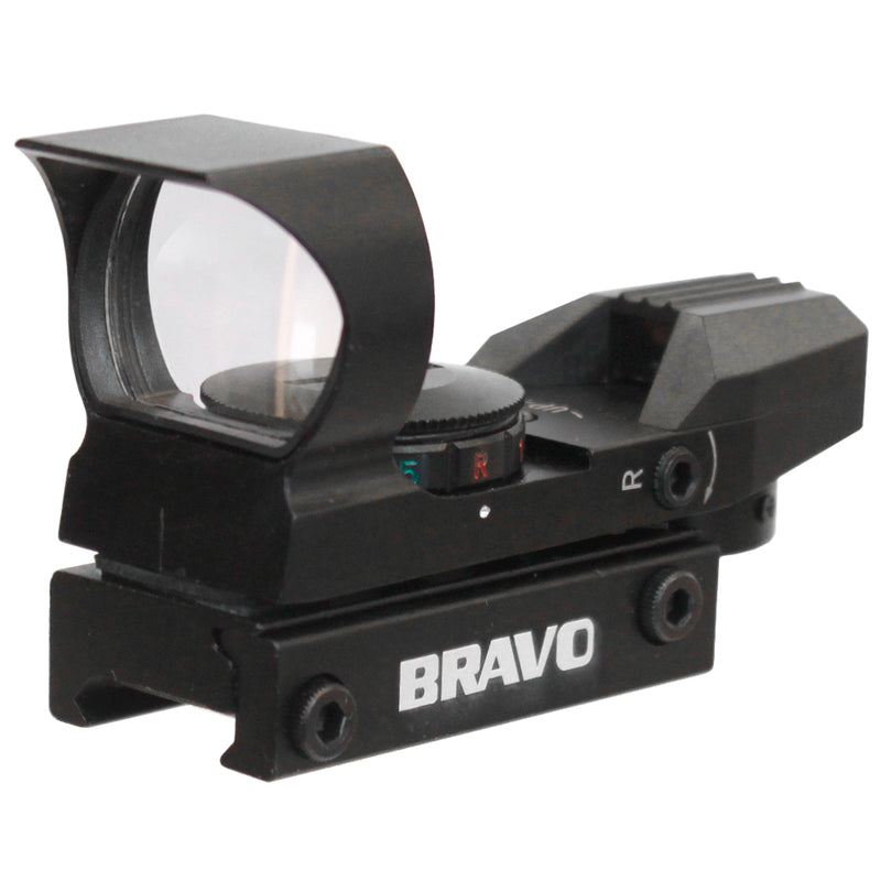 Bravo MROS SQR-Z Multi-Reticle Green and Red Dot Reflex Sight