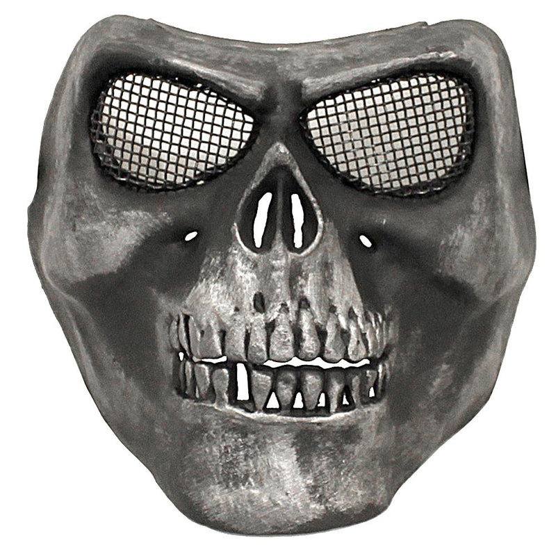 Bravo Tactical Skull Steel Mesh Airsoft Face Mask
