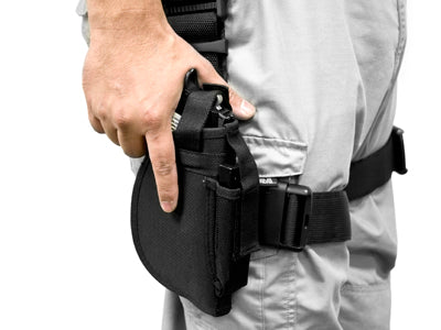 VISM 3 Piece Drop Leg Pistol Holster with Tactical Belt and Mag Pouches