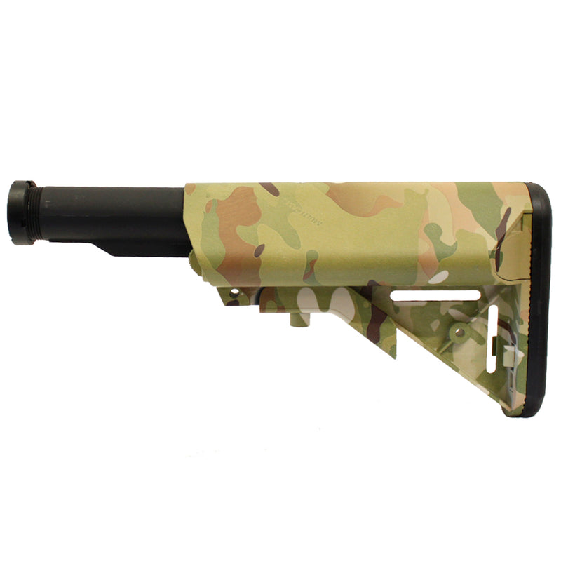 Echo 1 Retractable M4 Crane Stock with Buffer Tube - Multicam
