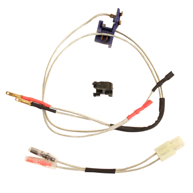 Echo1 Low Resistance Wire Harness and Switch Assembly for Airsoft M4