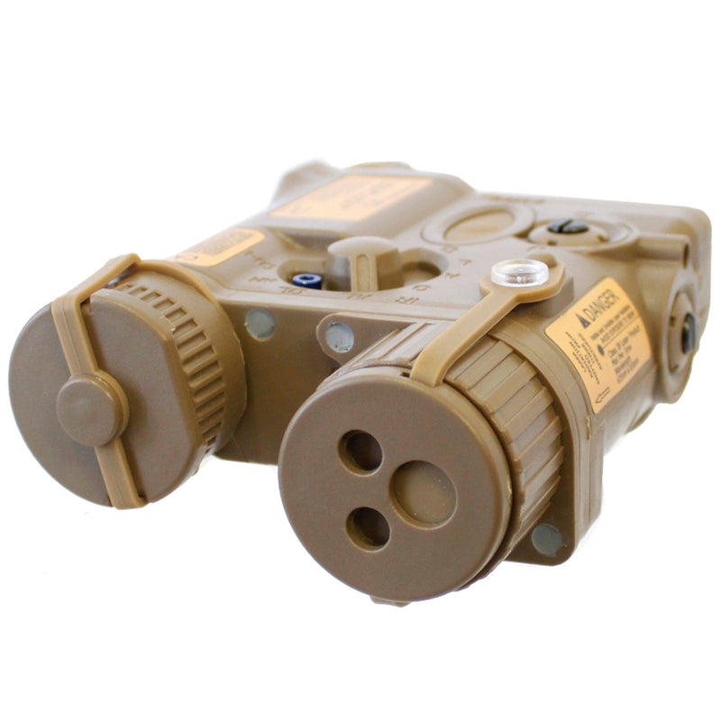 Element PEQ-16A External Airsoft Lipo Battery Box - Tan