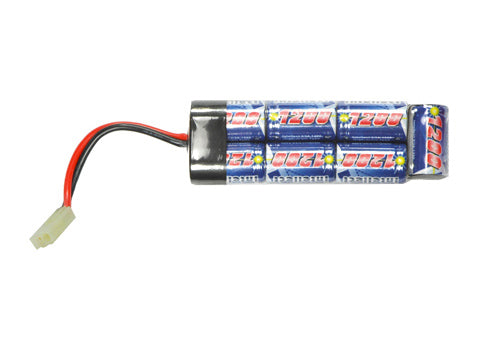 Intellect 8.4V 1200mAh Mini Pack Rechargeable Battery for G36 and MP5