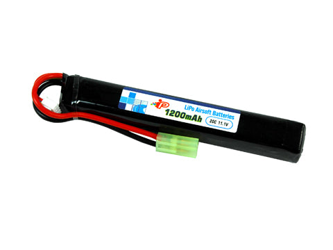TSD Intellect 11.1V 20C 1200mAh Rechargeable LiPo Battery Stick Type