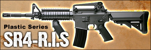 SRC M4 RIS Assault Rifle Metal Gear AEG Auto Electric Airsoft Gun