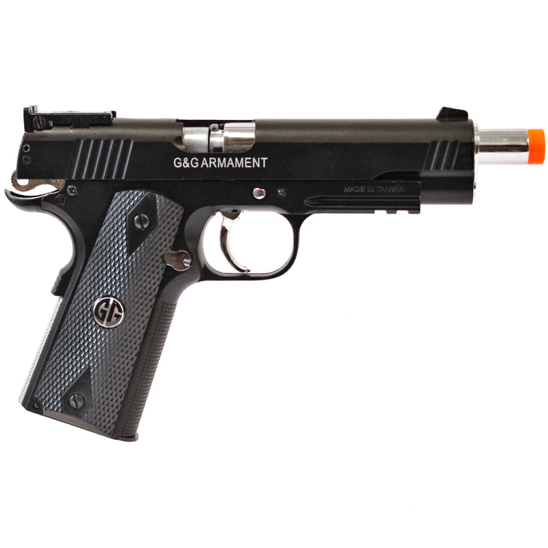 G&G Full Metal Xtreme 45 Co2 Gas Blow Back Airsoft Pistol - Black