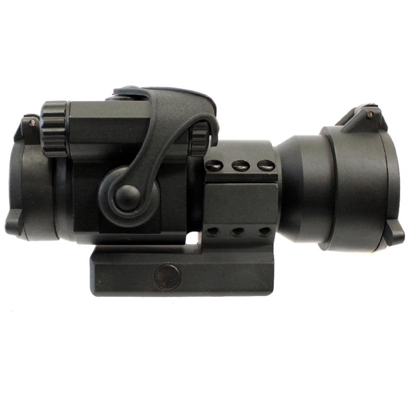 G&P 1x30 Military Red and Green Dot Sight with Low Profile Rail Mount