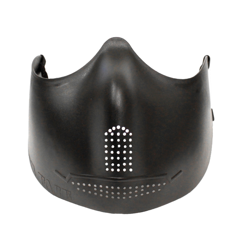 Hakkotsu Iron Face Airsoft Lower Face Mask - Black