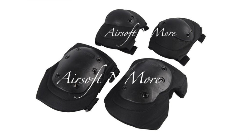Airsoft / Paintball Knee and Elbow Pads Padded Protection