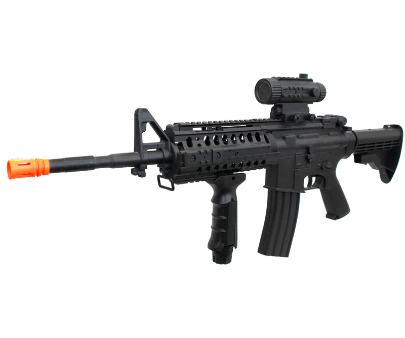 UKARMS M4 S-System RIS Plastic Gearbox Airsoft Gun Assault Rifle AEG